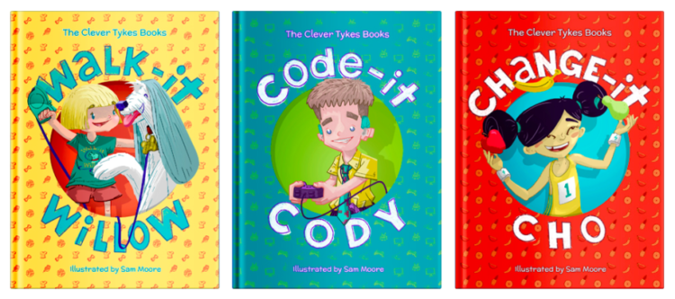 Clever Tykes books covers