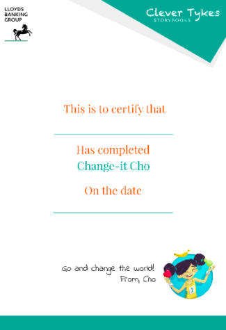 Cho certificate thumbnail