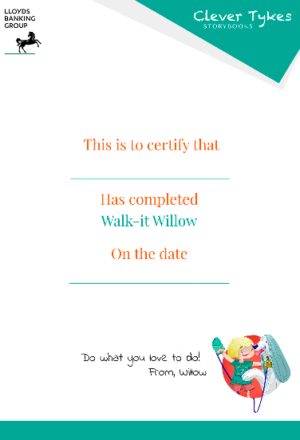 Willow certificate thumbnail