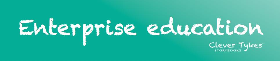 Enterprise education title banner