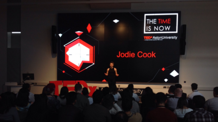Clever Tykes co-founder gives TEDx talk at Aston University