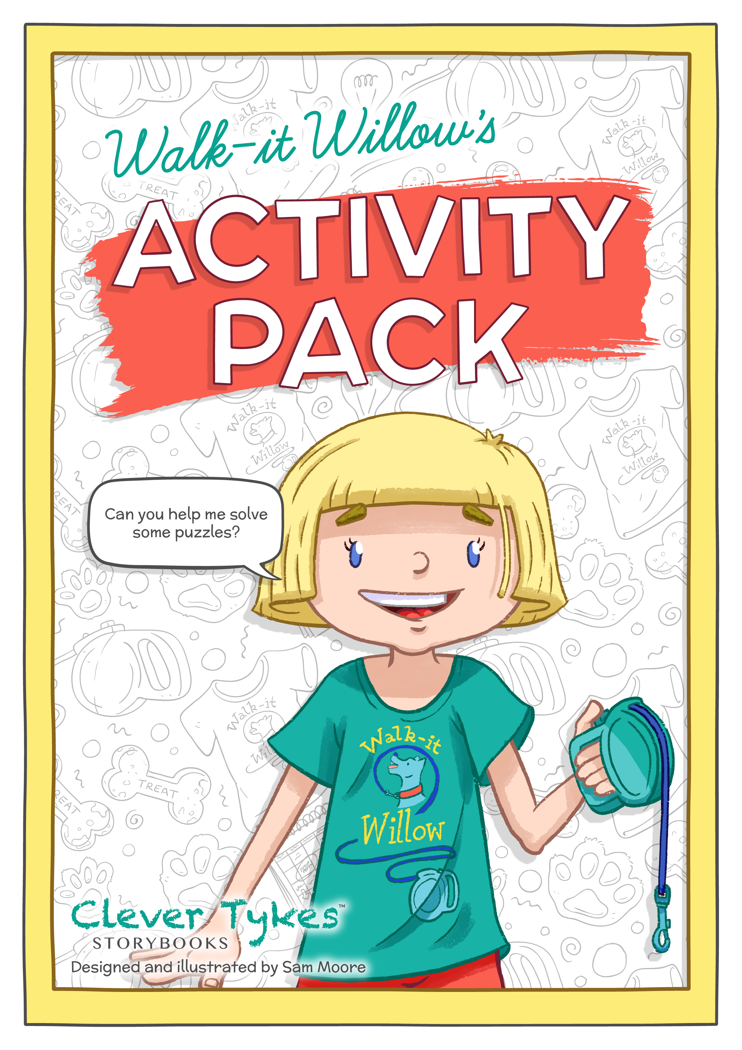 Printable Walk-it Willow activity pack - Clever Tykes
