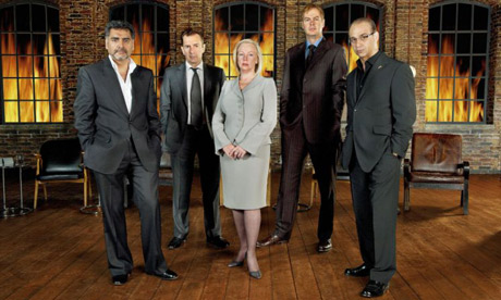 The Dragons from Dragon's Den. Do they provide positive entrepreneurial role models for kids?