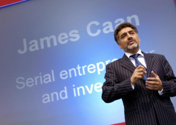 James Caan Clever Tykes entrepreneurship