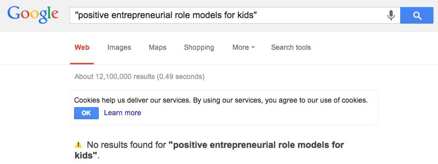 positive entrepreneurial role models for kids