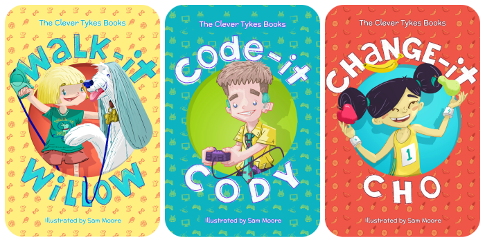Clever Tykes series PNG
